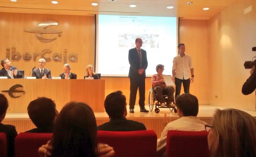 Zaragoza Accesible gana el accésit del premio Garcia Mercadal